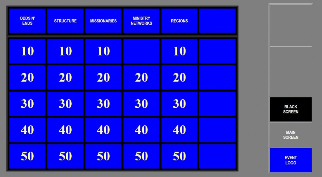 Jeopardy Screenshot 1